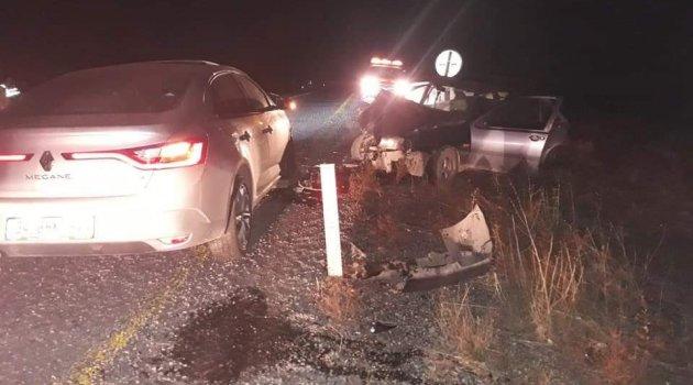 Tutak' ta trafik kazası: 2 yaralı
