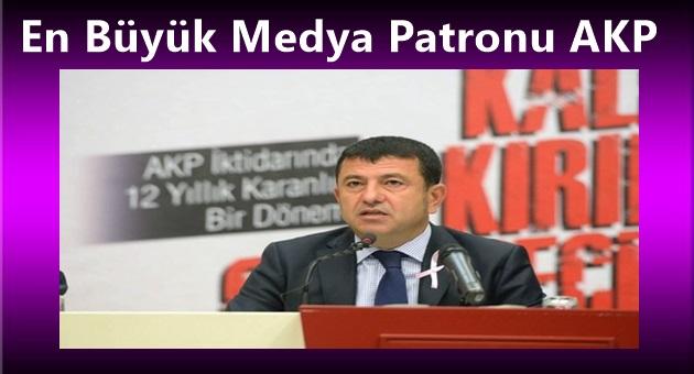 Ağbaba,En Büyük Medya Patronu AKP