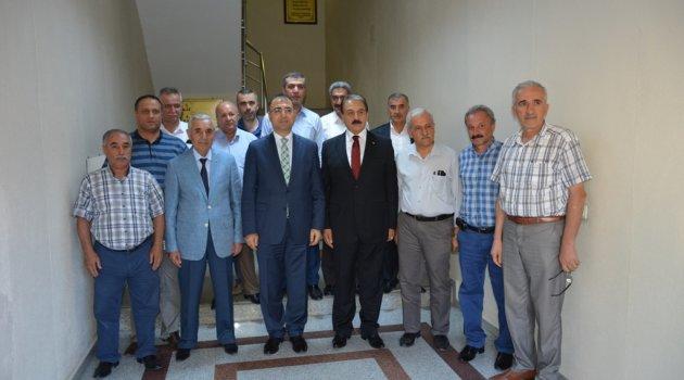 Vali Toprak'tan esnaf kuruluşlarına ziyaret