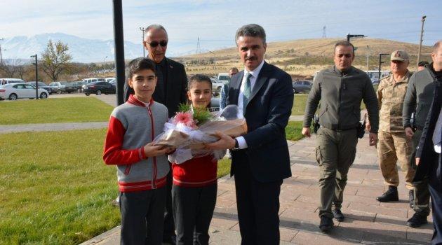 Validen Doğanşehir'e ziyaret