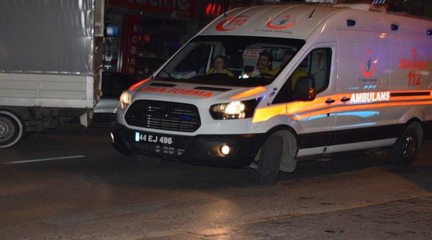 Yeşilyurt'ta silahlı saldırı : 1 yaralı