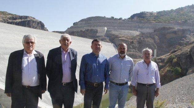 Yoncalı Barajı inşaatı durduruldu