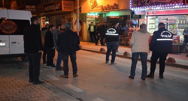 Malatya'da çay ocağından silahlı saldırıya uğrayan 1 kişi yaralandı