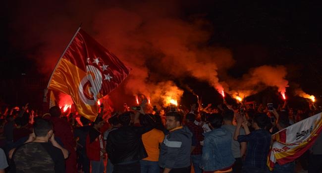 Malatya'da Galatasaray coşkusu