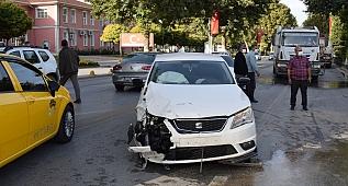 Malatya'da iki otomobil çarpıştı: 1 yaralı