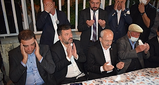 CHP Liderinden Ağbaba'ya taziye ziyareti