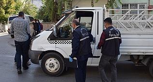 Polisten kaçan araçta tüfek çıktı
