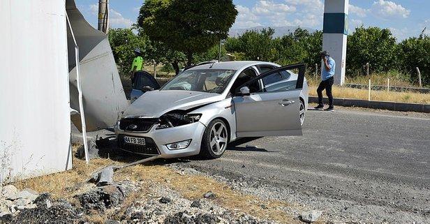 Malatya'da film gibi polis şüpheli kovalamacası : 1'i polis 3 yaralı