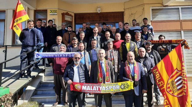 Arapgir'de Malatyaspor çağrısı