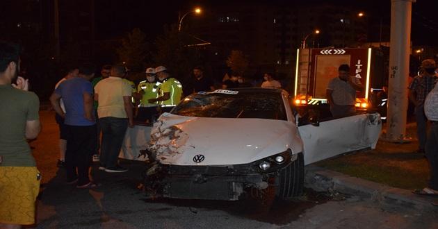 Malatya'da feci kaza : 5 yaralı