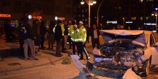 Malatya'da feci kaza: 4 yaralı