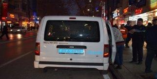 Alkollü kadına polis biber gazı ile müdahale etti