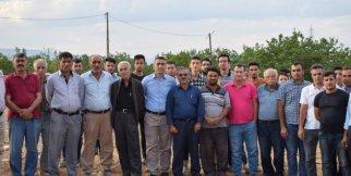 Mahalleliden çimento fabrikası kurulmasına tepki