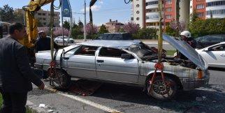 Malatya'da otomobil takla attı: 1 yaralı