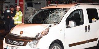 Malatya'da hafif ticari aracın çarptığı genç ağır yaralandı