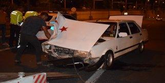 Malatya'da alt geçitte kaza: 2 yaralı